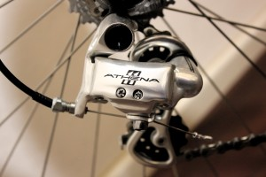 campag athena rear mech at pret a velo